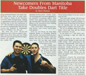 The following article appeared in the Royal Canadian Legion Magazine – Sept./Oct. 1999 Issue